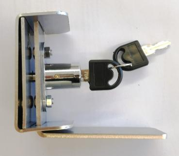 Lockable window / door lock made of stainless steel, door security